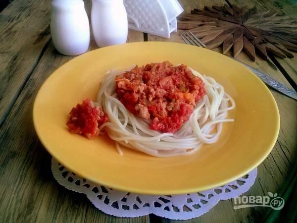 Соус Болоньезе - пошаговый рецепт