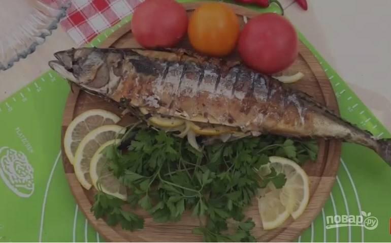 Нежная и сочная скумбрия на мангале - пошаговый рецепт
