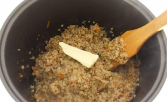 Каша гречневая со свининой - пошаговый рецепт