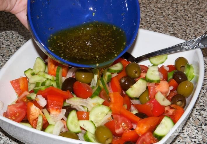Заправка для салата своими руками