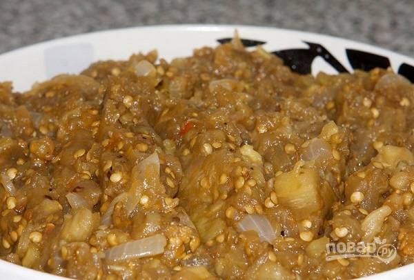 Закуска из баклажанов любимая
