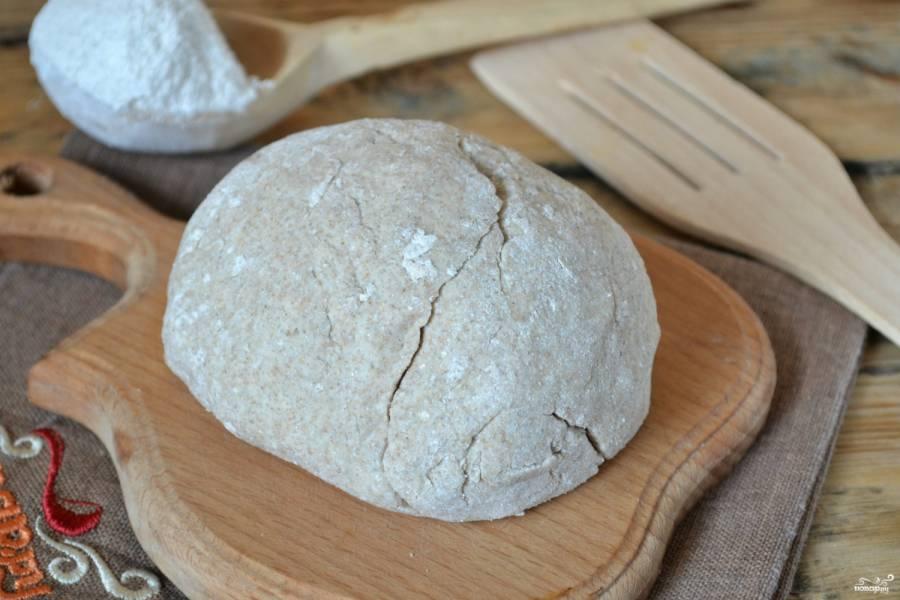 Бездрожжевое ржаное тесто