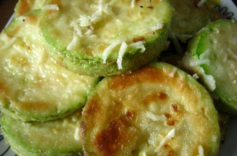 Жареные кабачки с сыром - пошаговый рецепт с фото на