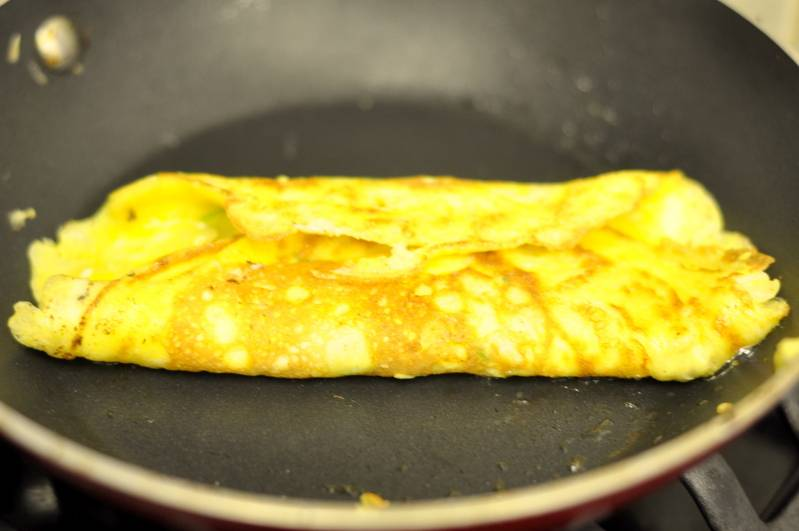 Омлет с молоком и сыром - пошаговый рецепт с фото на