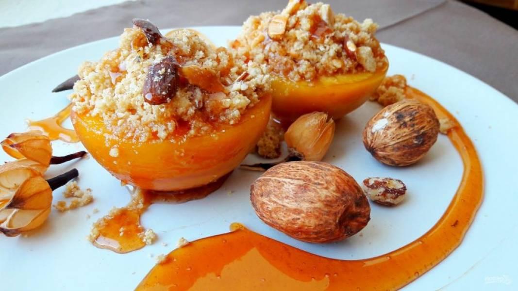 Рецепты блюд из персиков