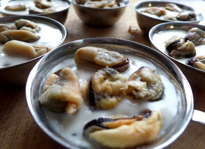 Жульен из мидий - пошаговый рецепт с фото на