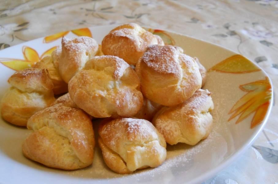 Заварное печенье в домашних условиях