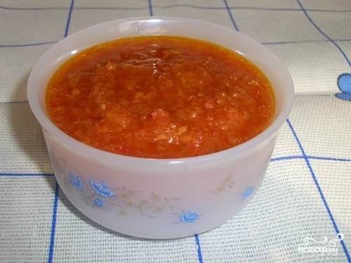 Аджика с хреном - пошаговый рецепт с фото на