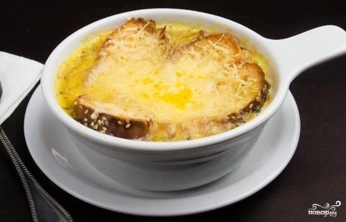 Луковый суп классический рецепт