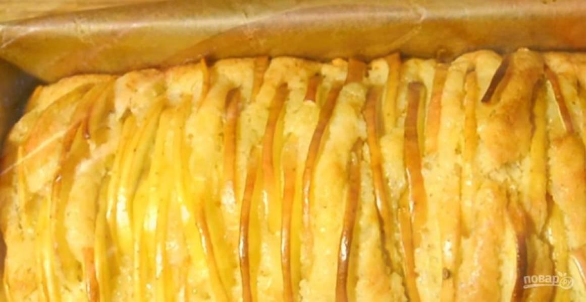 Ванильный кекс с яблоками - пошаговый рецепт с фото на