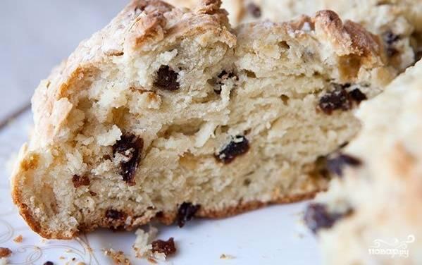 Ирландский содовый хлеб - пошаговый рецепт