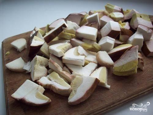 Жюльен из белых грибов - пошаговый рецепт с фото на