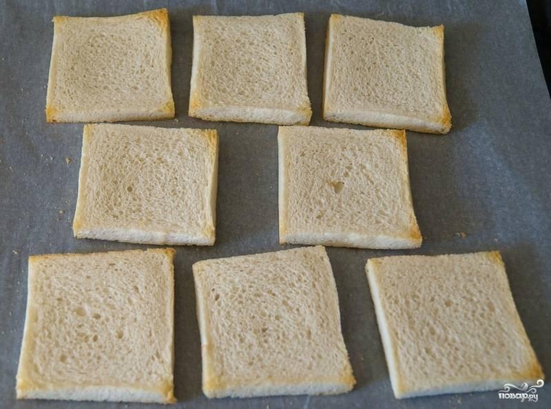 Гренки с сыром - пошаговый рецепт