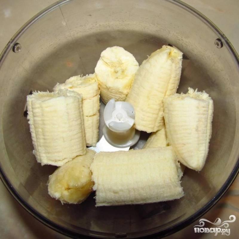 Бананово-клубничный коктейль - пошаговый рецепт