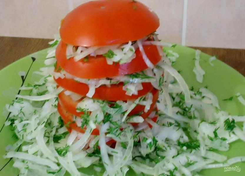 Салат к узбекскому плову