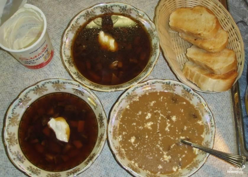 Рецепты из сухих грибов с фото пошагово