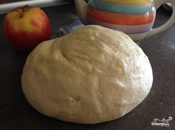 Дрожжевое тесто без яиц