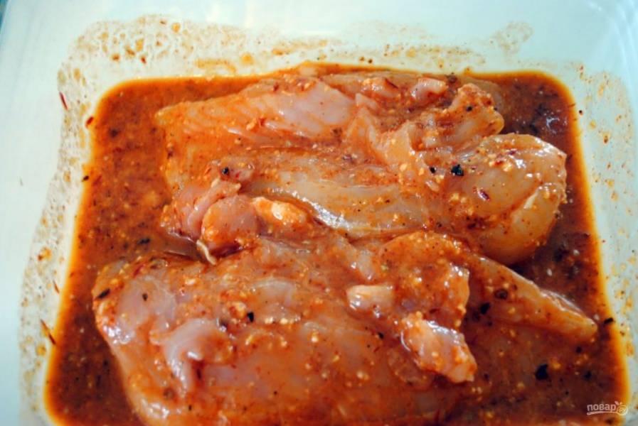 Курица под маринадом - пошаговый рецепт с фото на
