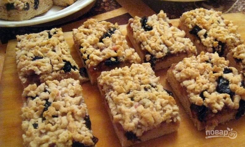 Печенье - Крошка с вареньем - пошаговый рецепт с фото на