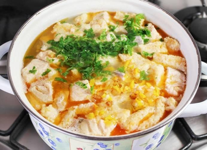 Рыбный суп с клецками - пошаговый рецепт