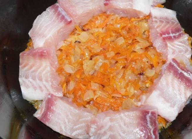 Пангасиус в мультиварке - Редмонд - пошаговый рецепт с фото на