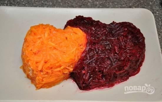 Салат - Сладкая парочка - пошаговый рецепт с фото на