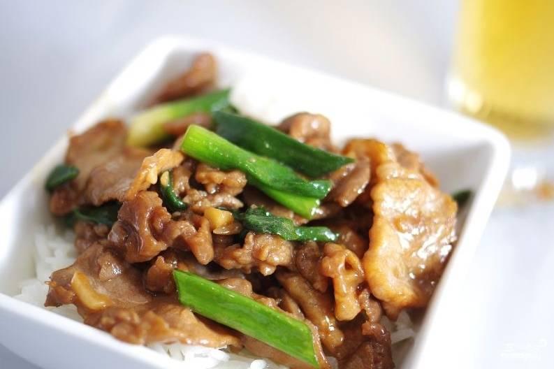 Свинина по азиатски рецепт пошагово