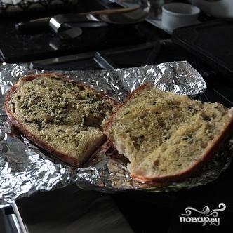 Чесночный хлеб - пошаговый рецепт с фото на