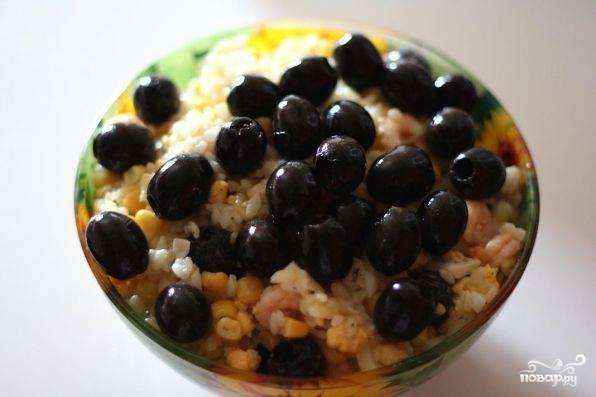 Салат с рисом и кукурузой - пошаговый рецепт с фото на