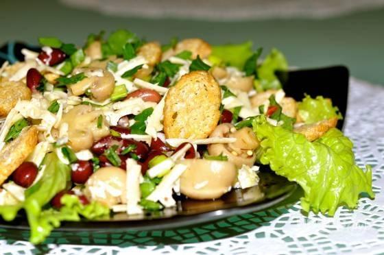Лукошко с курицей и грибами рецепт