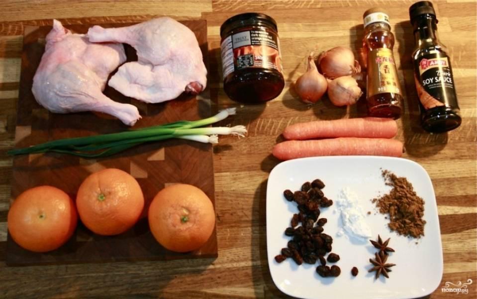 Утиные окорочка с апельсинами - пошаговый рецепт