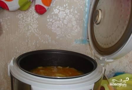 Тушеный картофель в мультиварке - Редмонд - пошаговый рецепт с фото на