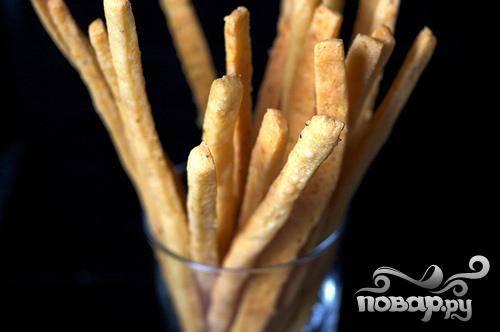 Сырные палочки из острого сыра