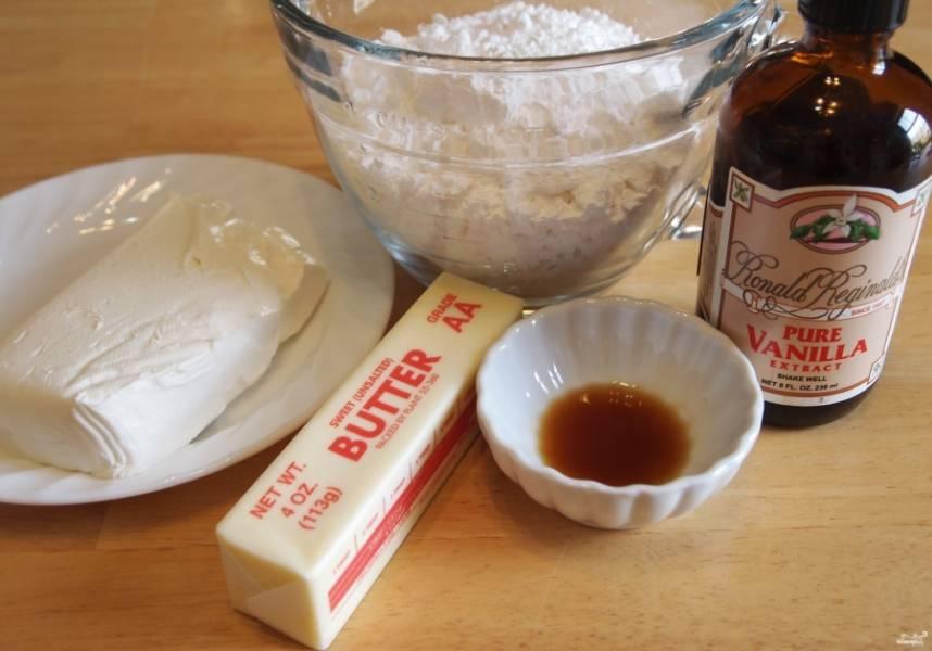 Творожный крем для капкейков - пошаговый рецепт