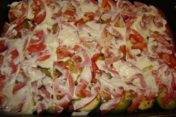 Кабачки с помидорами в духовке - пошаговый рецепт с фото на