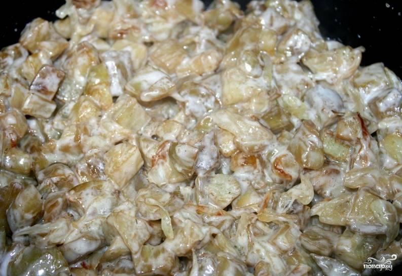 Тушеные баклажаны в мультиварке - пошаговый рецепт с фото на