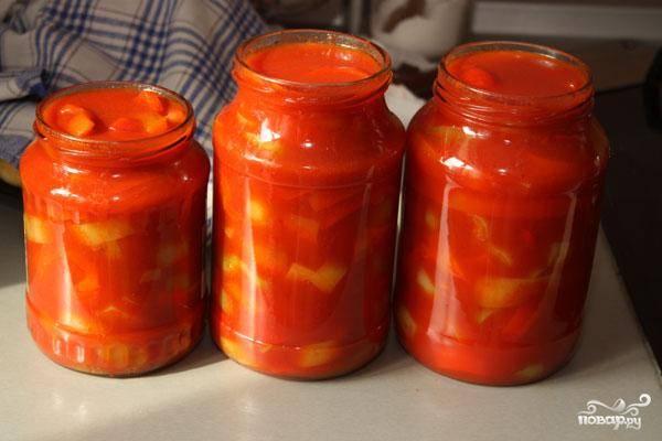 Лечо по-венгерски - пошаговый рецепт с фото на
