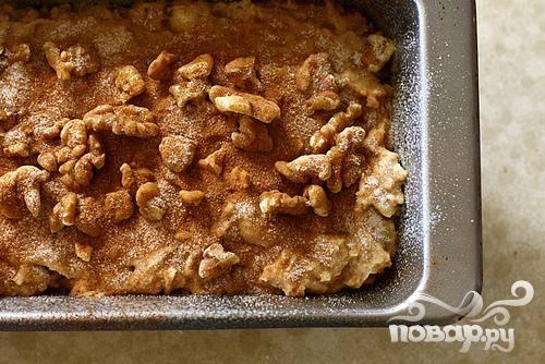 Яблочный хлеб с орехами - пошаговый рецепт