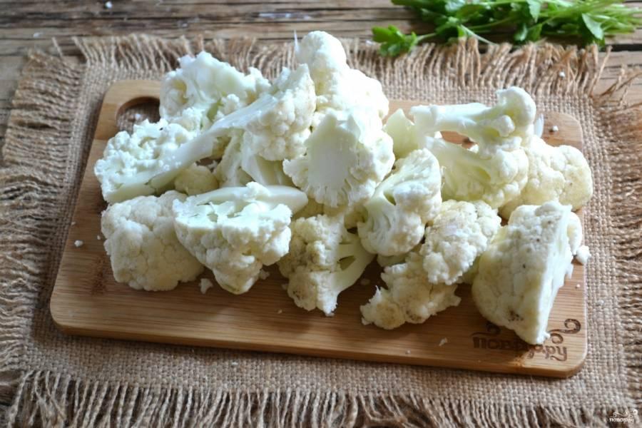 Грудка с цветной капустой - пошаговый рецепт с фото на