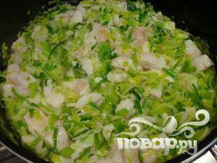Рыба с луком-порей - пошаговый рецепт с фото на