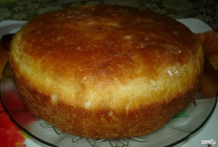 Хлеб простой в духовке