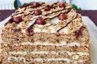 Ореховый торт - рецепты (66 рецептов орехового торта)