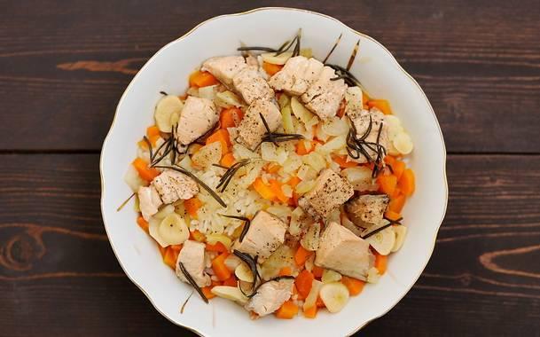 Рыба с овощами на пару - пошаговый рецепт