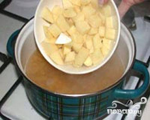 Суп гороховый с орехами - пошаговый рецепт