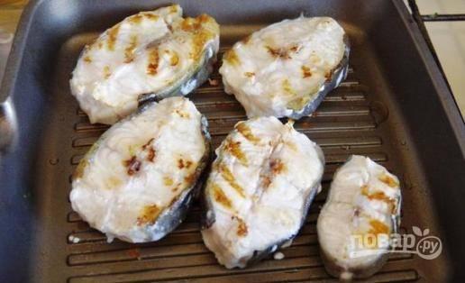 Зубатка на гриле - пошаговый рецепт с фото на