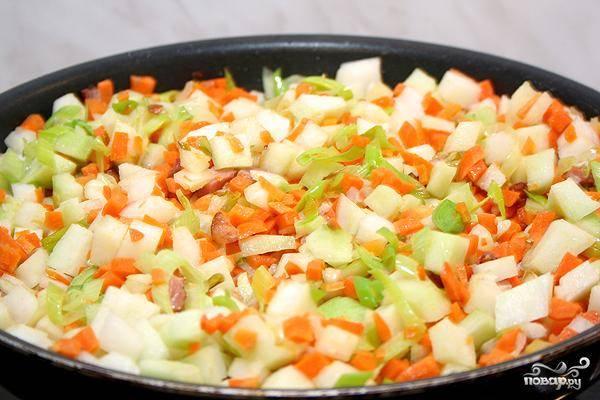 Франкфуртский овощной суп - пошаговый рецепт с фото на
