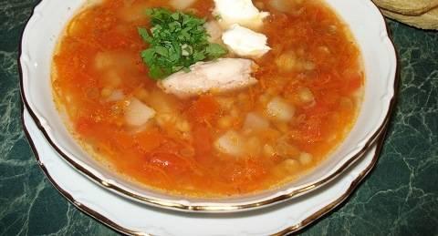 4. Вуаля! Суп готов! Приятного вам аппетита!
