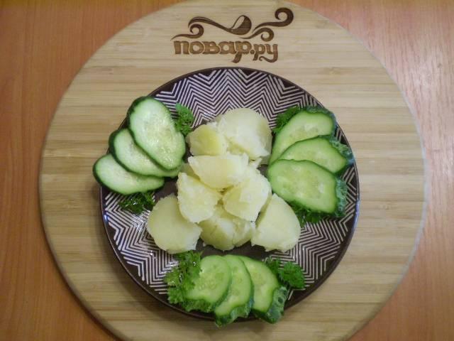 Картошка под соусом - пошаговый рецепт