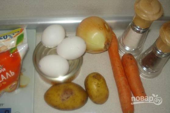 Мимоза - с печенью трески - пошаговый рецепт