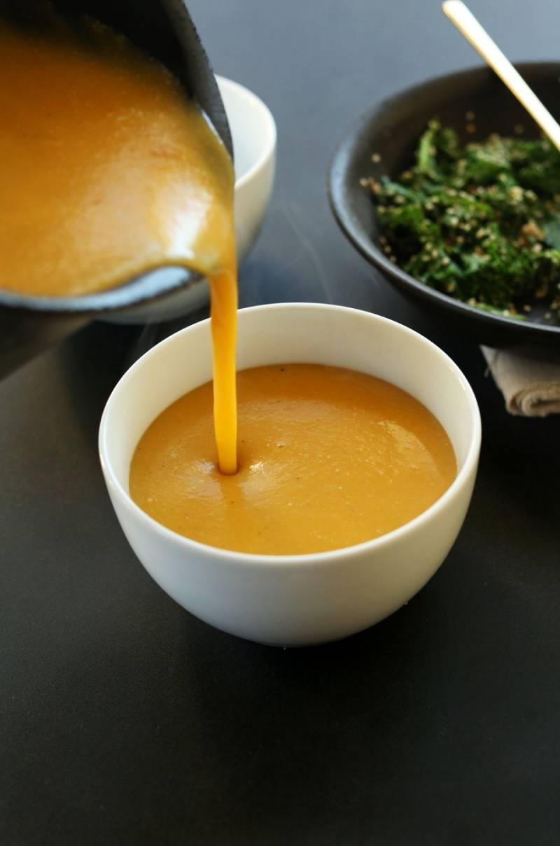Постный суп из тыквы - пошаговый рецепт